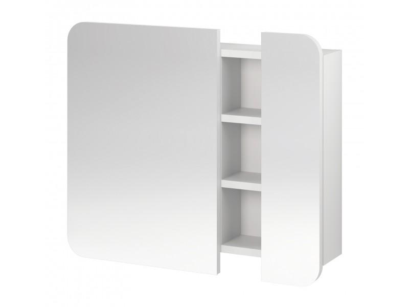 PURE шкаф-зеркало белая: фото - магазин Svit Keramiki