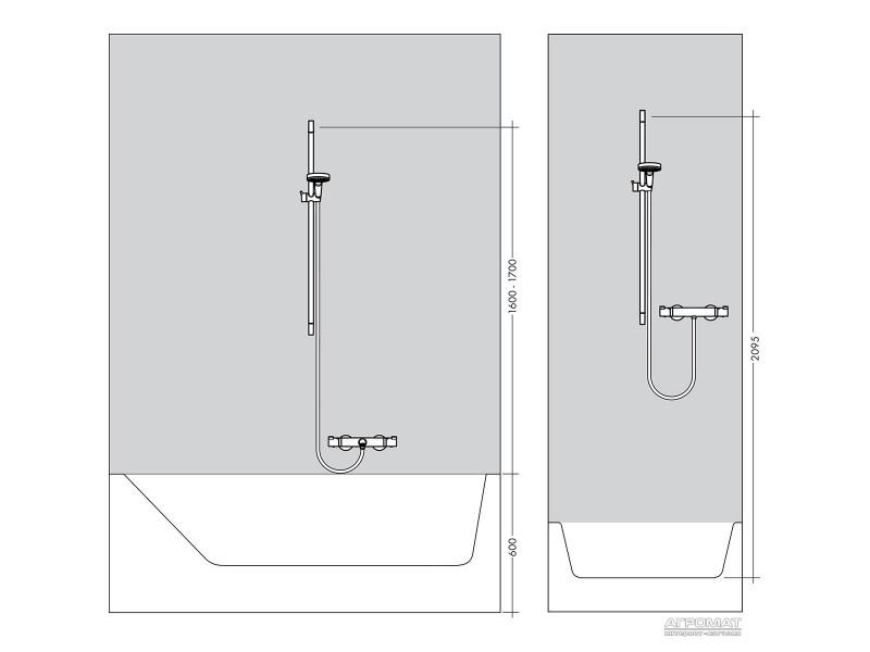 Душевой комплект Hansgrohe Raindance Select E 26620000: фото - магазин Svit Keramiki