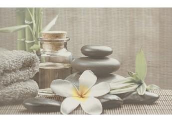 Плитка CERSANIT OLIVIA GREY SPA1 декор: фото - магазин Svit Keramiki