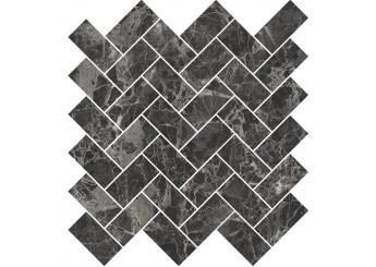 Мозаика OPOCZNO SEPHORA BLACK MOSAIC : фото - магазин Svit Keramiki
