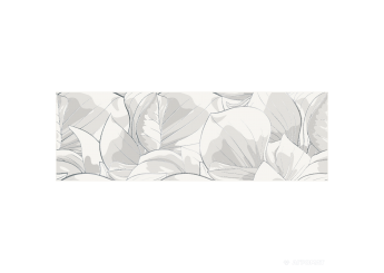 Плитка OPOCZNO FLOWER CEMENTO WHITE INSERTO декор: фото - магазин Svit Keramiki