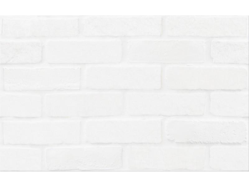 CERSANIT WHITE BRICKS STRUCTURE стена: фото - магазин Svit Keramiki
