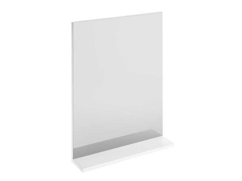 MELAR зеркало с белой полочкой: фото - магазин Svit Keramiki