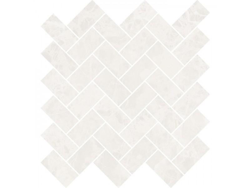 Мозаика OPOCZNO SEPHORA WHITE MOSAIC: фото - магазин Svit Keramiki