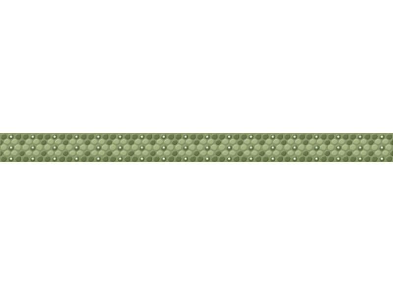 Плитка ANDREA GREEN фриз: фото - магазин Svit Keramiki