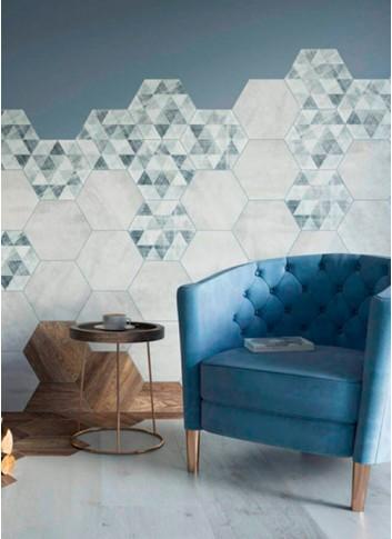 Тренд сезона – шестиугольная плитка (гексагон)