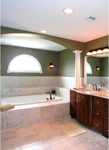 Как выбрать правильное освещение для ванной комнаты