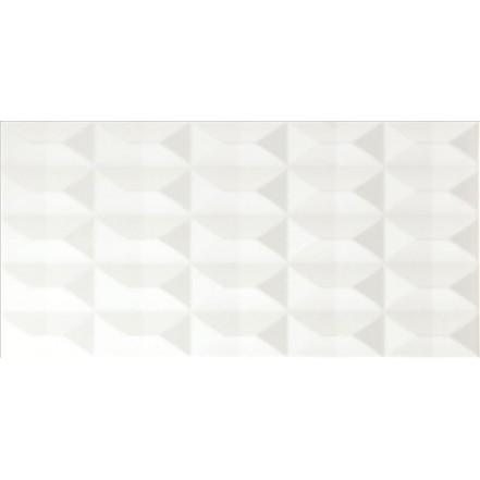 Плитка ASPEN PIRAMIDAL BLANCO BRILLO стена