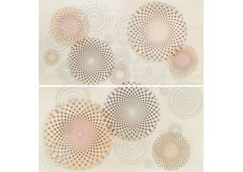 Плитка APE ARMONIA DEC SET (2) SENSAZIONE TORTOLA декор2: фото - магазин Svit Keramiki