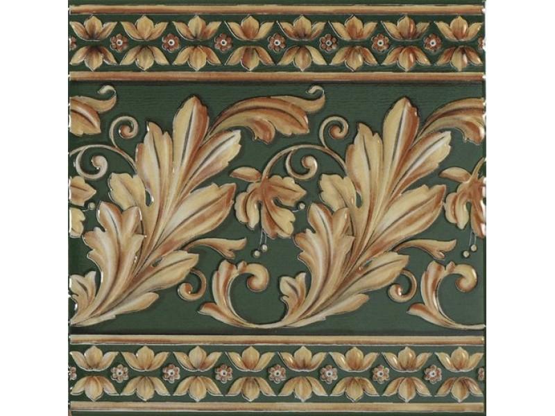Плитка MAJESTY VERDE BOTELLA декор: фото - магазин Svit Keramiki