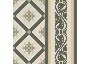 Плитка BALDOCER ADELE BORDER декор: фото - магазин Svit Keramiki