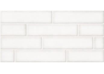 Плитка Береза Керамика БРИК кремовый глянец стена: фото - магазин Svit Keramiki