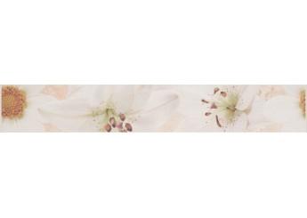 ALAMA BEIGE BORDER FLOWER фриз