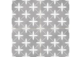 Плитка Dual Gres CHIC POOLE GREY пол: фото - магазин Svit Keramiki