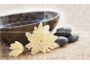 Плитка GOLDEN TILE BALI GT005p панно: фото - магазин Svit Keramiki