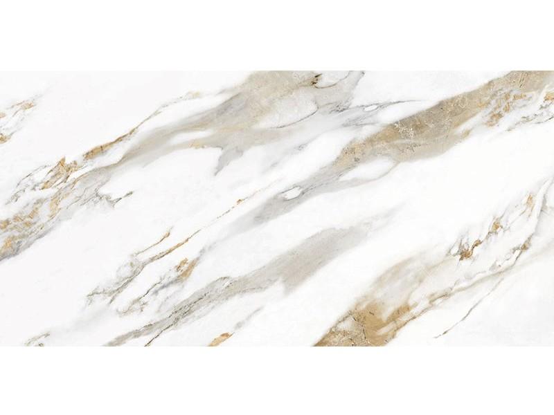 Керамогранит InterGres CALACATTA GOLD серый полированный 071L пол: фото - магазин Svit Keramiki