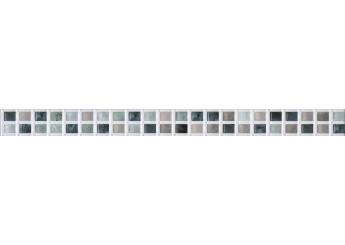 Интеркерама UNICO белый 061 бордюр: фото - магазин Svit Keramiki