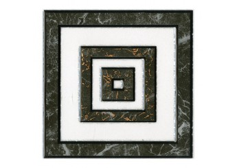 Плитка Интеркерама Декор ALON серый 071: фото - магазин Svit Keramiki