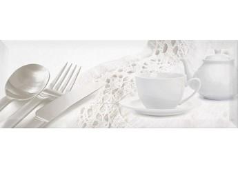Плитка Интеркерама BINGO белый 061-1 декор: фото - магазин Svit Keramiki