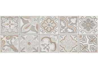Плитка Интеркерама DOLORIAN светло-серый 071-1 декор: фото - магазин Svit Keramiki