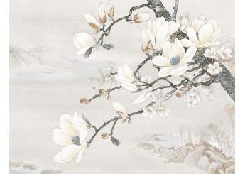 Плитка Интеркерама DOLORIAN декор-панно серый 071: фото - магазин Svit Keramiki