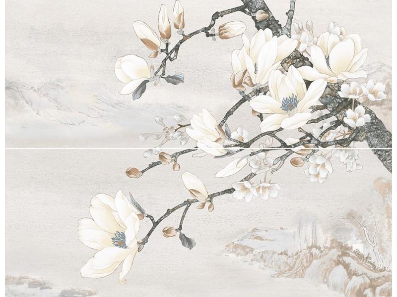 Плитка DOLORIAN декор-панно серый 071: фото - магазин Svit Keramiki