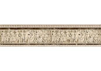 Плитка Интеркерама Бордюр EMPERADOR коричневый вертикальный 031-2: фото - магазин Svit Keramiki