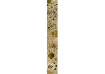 Плитка Интеркерама Бордюр EMPERADOR коричневый вертикальный 031: фото - магазин Svit Keramiki