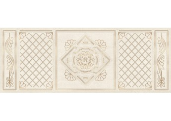 Плитка Интеркерама GLORIA коричневый 031 декор: фото - магазин Svit Keramiki