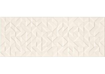 Интеркерама ОДИСЕЯ светло-бежевый рельеф стена 021/р: фото - магазин Svit Keramiki