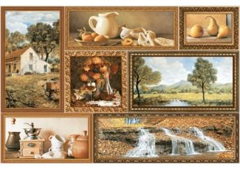 Плитка Интеркерама GRANI декор коричневый-031: фото - магазин Svit Keramiki