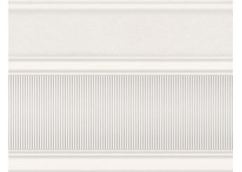 Плитка Интеркерама ARTE широкий белый 061 бордюр: фото - магазин Svit Keramiki