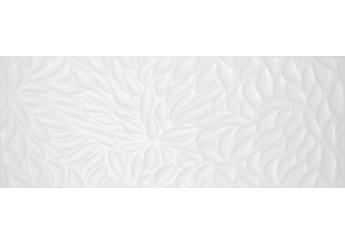 Плитка Интеркерама FLORENTINE белая рельеф 061-P стена: фото - магазин Svit Keramiki