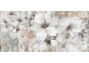 Интеркерама METRO серый 071-1 декор: фото - магазин Svit Keramiki