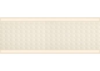 Интеркерама LUCENZE бордюр широкий бежевый 021-1: фото - магазин Svit Keramiki