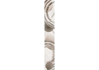 Плитка Интеркерама MARE коричневый вертикальный бордюр 031 : фото - магазин Svit Keramiki