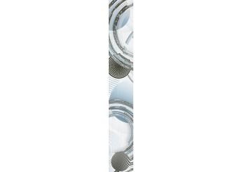 Плитка Интеркерама MARE серый вертикальный бордюр 071 : фото - магазин Svit Keramiki