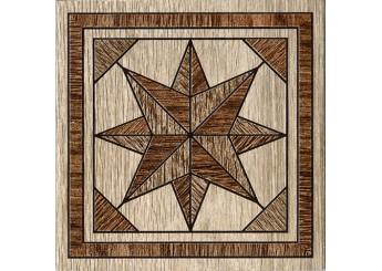 Плитка Интеркерама MASSIMA декор коричневый 031: фото - магазин Svit Keramiki