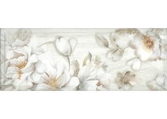Интеркерама BLANCO светло-серый 071-1 декор: фото - магазин Svit Keramiki