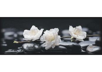 Плитка Интеркерама PERGAMO черный 082 декор: фото - магазин Svit Keramiki