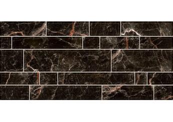Плитка Интеркерама PLAZA черная стена 082: фото - магазин Svit Keramiki