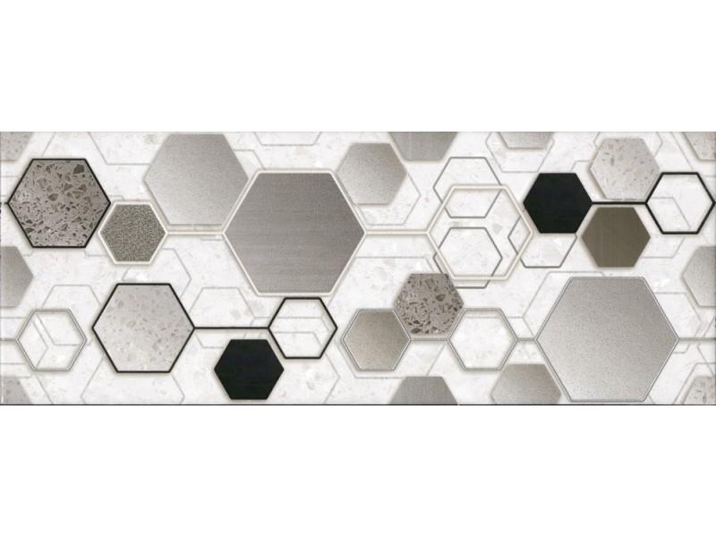 Интеркерама TECHNO серый декор 071: фото - магазин Svit Keramiki