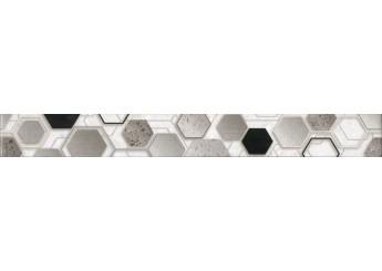 Интеркерама TECHNO бордюр вертикальный серый 071: фото - магазин Svit Keramiki