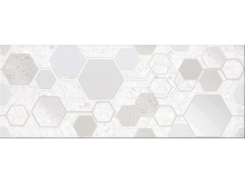 Интеркерама TECHNO светло-серый стена 071 -1 (рисунок): фото - магазин Svit Keramiki
