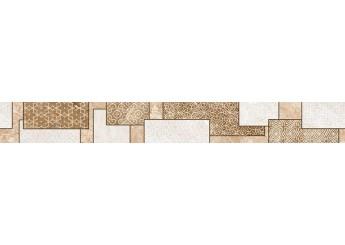 Плитка Интеркерама VIKING бордюр вертикальный бежевый 022: фото - магазин Svit Keramiki