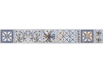 Плитка Интеркерама VIVA бордюр вертикальный 071-1: фото - магазин Svit Keramiki