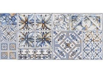 Плитка Интеркерама VIVA серый 071-1 декор: фото - магазин Svit Keramiki