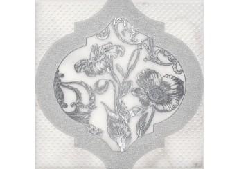 Плитка KERAMA MARAZZI ФРАГОНАР БЕЛЫЙ HGD A263 17051 декор: фото - магазин Svit Keramiki