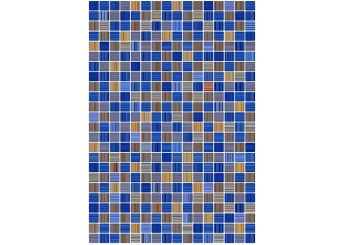 Керамин ГЛАМУР 2Т голубая стена: фото - магазин Svit Keramiki