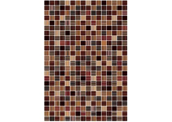 Керамин ГЛАМУР 3Т коричневая стена: фото - магазин Svit Keramiki